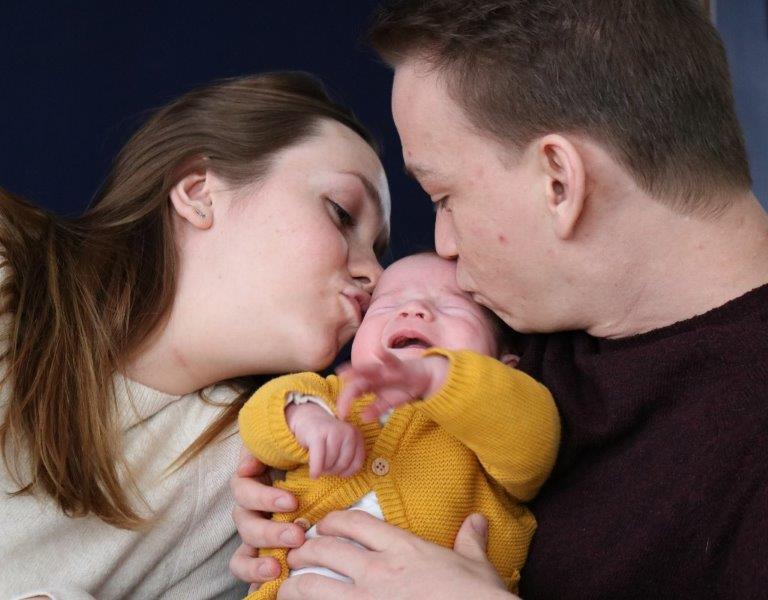 Peter, Merlynn en Nina